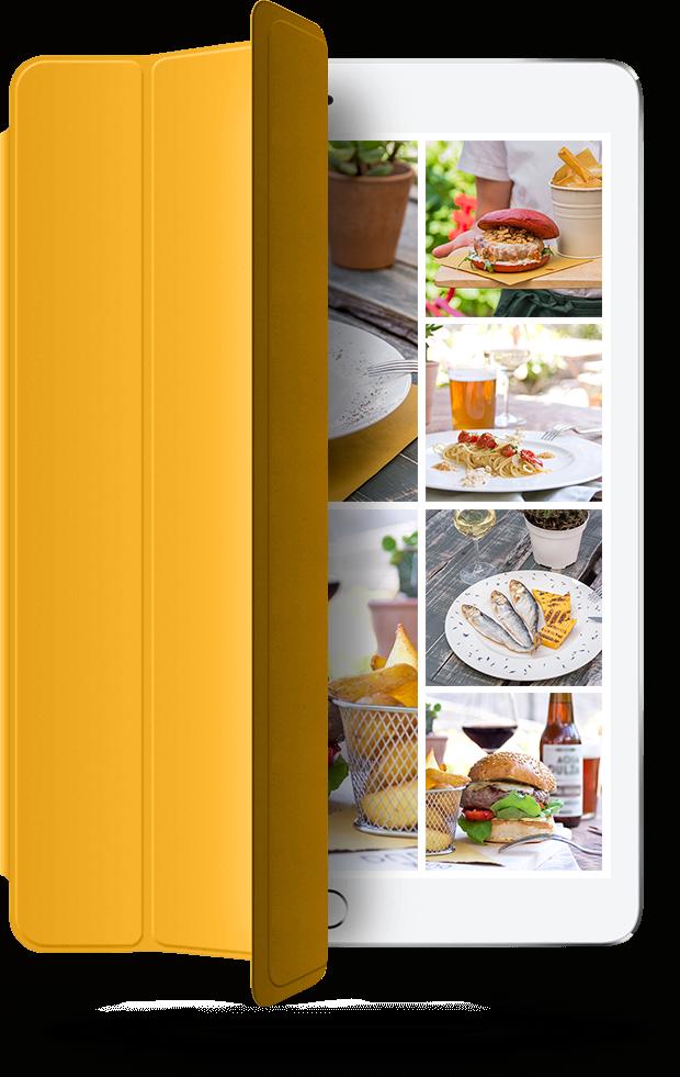 foto per ristoranti - iPad