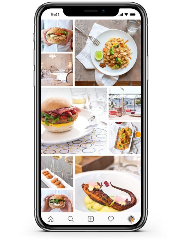foto per ristoranti - iPhone
